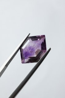 【 MADE TO ORDER 009 】Goethite in Amethyst Ring