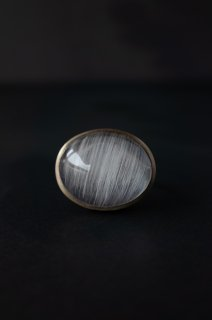 White Rutilated Quartz Ring