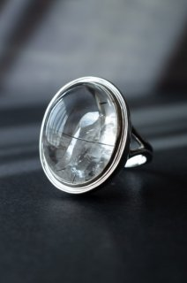 Quartz in Quartz Ring