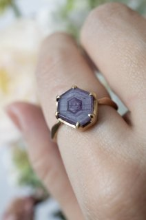 Pink Sapphire Ring - 001
