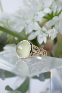 Cats Eye Heliodor Ring - 001