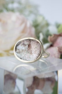 Cherry Blossoms Garden Quartz Ring - 001