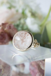 Sericite in Quartz Ring - 003