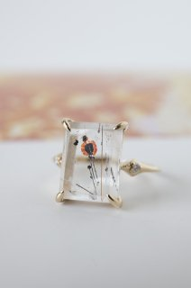 POPPY in Quartz Ring
