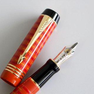 [送料無料][数量限定] パーカー デュオフォールド100周年記念限定万年筆 ビッグレッドGT 中字