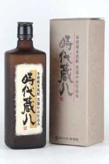 堤酒造 時代蔵八 甕仕込黒麹(米)25% 720ml