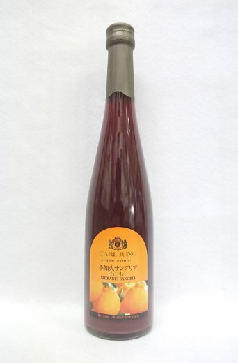 福田農場×カールユング メルロー不知火サングリア (ノンアルコールワイン) 500ml