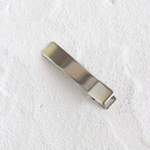 シルバーワニクリップ48mm4個セット