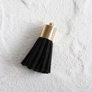 スウェードタッセル (S)(ブラック)
