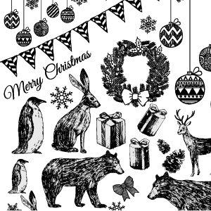 CHRISTMAS PARTY(クリスマスパーティー・ブラック)