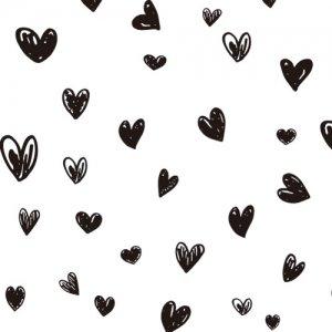 HEART HANDWRITING(L)(ハート ハンドライティング・ブラック)