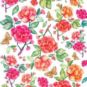 VICTORIA FLOWER(ヴィクトリアフラワー・レッド)