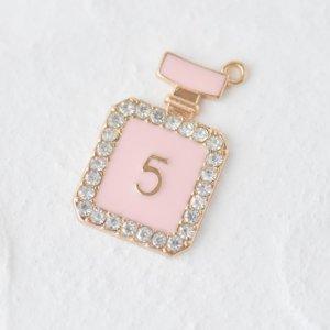 香水瓶�(ピンク)