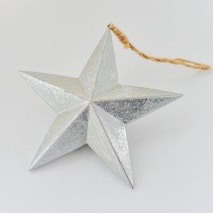 ノエルデコール(シルバー) / クリスマス オーナメント 飾り ツリー 銀 星