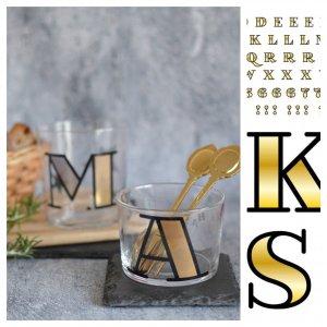gold font(ガラス用)