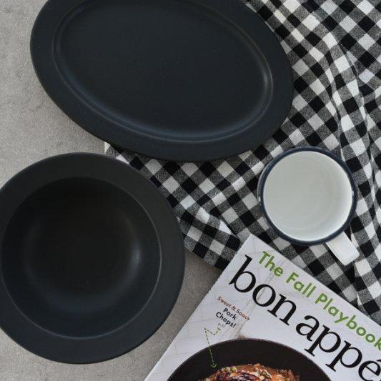 デイズ(ブラック)/SAKUZAN 作山窯 おしゃれ 食器 皿