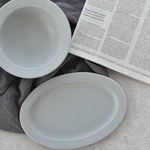 デイズ(グレー)/SAKUZAN 作山窯 おしゃれ 食器 皿