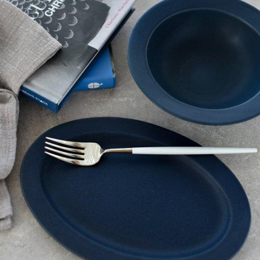 デイズ(ネイビー)/SAKUZAN 作山窯 おしゃれ 食器 皿