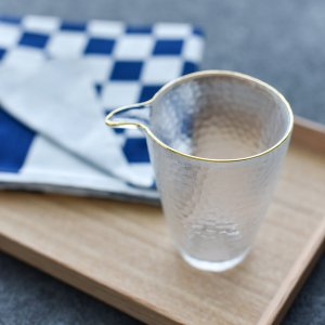 ガラス冷酒カップ