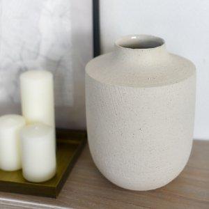 壺口花器 / 端午の節句 桃の節句  生け花 フラワーアレンジメント お正月 陶器