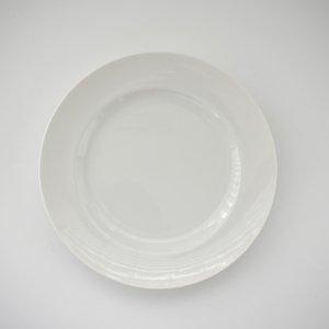 20.7cmリムプレート(無くなり次第終了)/白磁 白い食器 無地