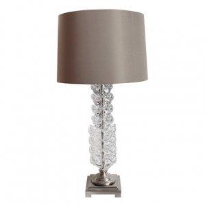 テーブルランプ(フラワーガラス)/卓上スタンド インテリアライト