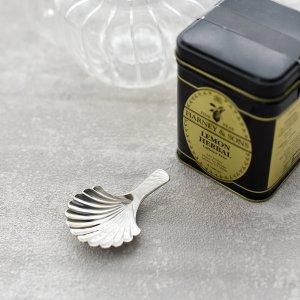 ティースクープ(シェル)/茶葉用スプーン 茶さじ ティーサーバー