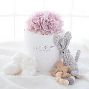 ダイパーケーキ&おくるみ&おもちゃセット(ピンク)/ギフト 出産祝