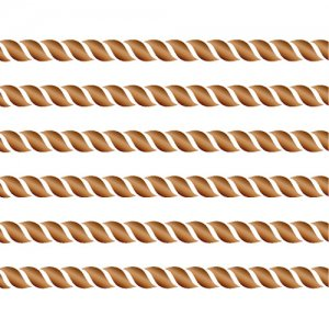 ROPE LINE(ロープライン・ブライトゴールド/レンジ対応)/転写紙 綱