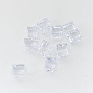 ディスプレイ用フェイクアイス/氷 クリア 撮影 小道具 食品サンプル