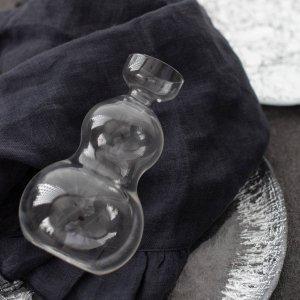 ガラス徳利(ひょうたん)/とっくり 酒器 日本酒 冷酒