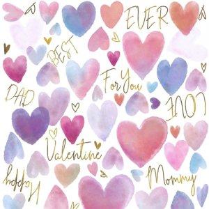 WHOLE HEART(ホールハート・レンジ対応)/転写紙 かわいい おしゃれ バレンタイン 母の日 父の日