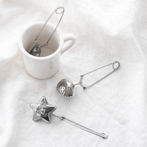 ティーストレーナー(シルバー)/茶葉用 茶こし お茶 紅茶 ステンレス
