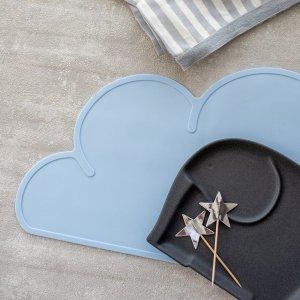 クラウドマット(ブルー)/雲 こども キッズ プレイスマット
