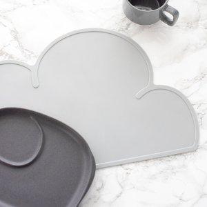 クラウドマット(グレー)/雲 こども キッズ プレイスマット