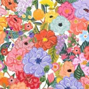 FANCY FLOWER(ファンシー フラワー)/転写紙 花柄 カラフル
