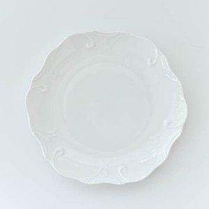 ウイングプレート/白磁 真っ白い食器 お皿