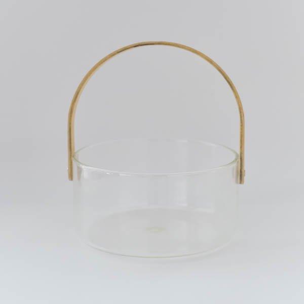 ガラスバスケット(クリア)