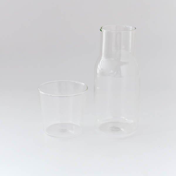 ガラスカップ&ピッチャーセット(クリア)