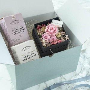 プリザーブドフラワーギフトセット2021A/プレゼント 誕生日 BD 女性 母の日