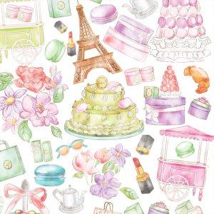 PARIS CAFE(パリ カフェ)/転写紙 おしゃれ ファッショナブル かわいい