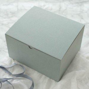 グレーBOX/箱 ボックス プレゼント ラッピング ギフト