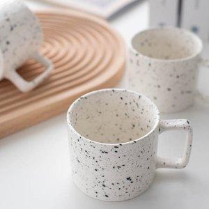 テラゾー風マグカップ/食器 おしゃれ コーヒーカップ 韓国カフェ風 かわいい