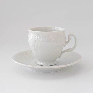 ブランカカップ&ソーサー/白磁 白い食器 コーヒーカップ ティカップ