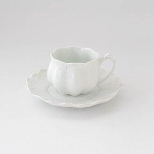 ピルケンハンマーカップ&ソーサー/白磁 白い食器 コーヒーカップ ティカップ