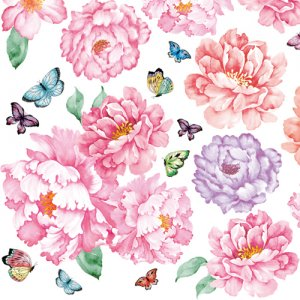 ROYAL FLOWER(ロイヤルフラワー)/転写紙 花柄 シノワズリ フェミニン