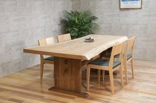 欅(ケヤキ) 一枚板テーブル 長さ2040mm    商品番号(T-kyk002)