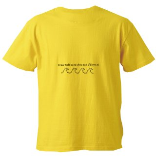 WAVE LOGO TEE chrome yellow