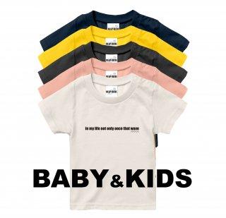 WAVE LOGO Tee  baby&kids