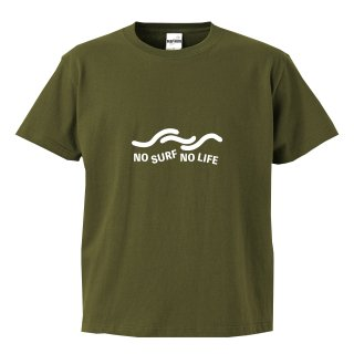 <img class='new_mark_img1' src='https://img.shop-pro.jp/img/new/icons20.gif' style='border:none;display:inline;margin:0px;padding:0px;width:auto;' />NO SURF NO LIFE Wave Tee olive green